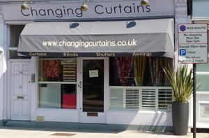Photograph of our retail shop in Highgate, North London